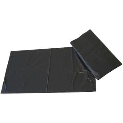 Paclan Refuse Sacks Medium Duty 100 L Black 73.7 x 45.7 x 96.5 cm 200 Pieces