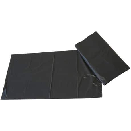 Paclan Garbage Bags 100 l Black 965 x 737 mm 200 pieces