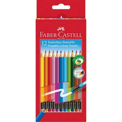 Faber-Castell Pencils 116612 Assorted 12 Pieces
