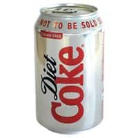 Coca-Cola Diet Soft Drink Can 330ml 24 Pieces