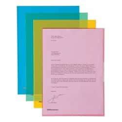 Office Depot Cut Back Folder A4 Assorted polypropylene 100 pieces