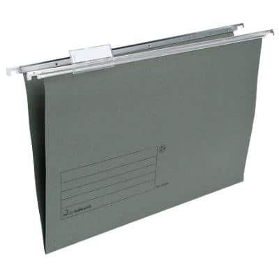 Niceday Vertical Suspension File 182280 Foolscap Green Manila 50 Pieces