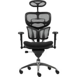 WorkPro galaxy mesh back / fabric seat Office Chair Black