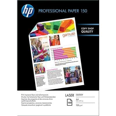 HP Photo Paper CG965A A4 150gsm White 150 Sheets