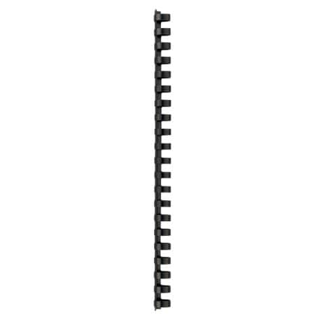 Office Depot Plastic Binding Combs 21 Ring Black 16 mm 145 Sheet Capacity A4 100 Per Pack
