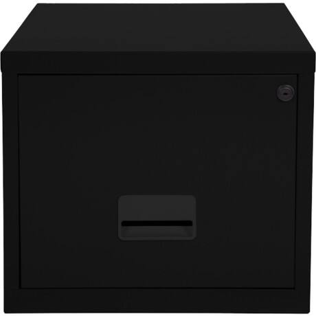 Pierre Henry 'Maxi' desktop single drawer A4 filing cabinet - black