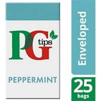 PG tips Peppermint Tea Bags Pack of 25