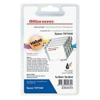 Office Depot Compatible Epson T0715 Ink Cartridge C13T07154010 Multicoloured Pack of 4