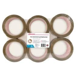 Office Depot Tape Industrial 48 mm x 66 m Brown 6 rolls