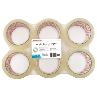 Office Depot Tape Industrial 48 mm x 66 m Transparent 6 Rolls