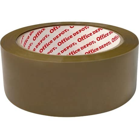 Office Depot Packaging Tape Industrial 38 mm x 66 m Brown