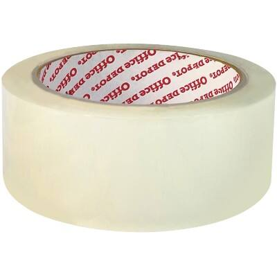 Office Depot Packaging Tape Industrial 38 mm x 66 m Transparent