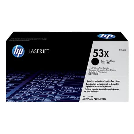 HP 53X Original Toner Cartridge Q7553X Black