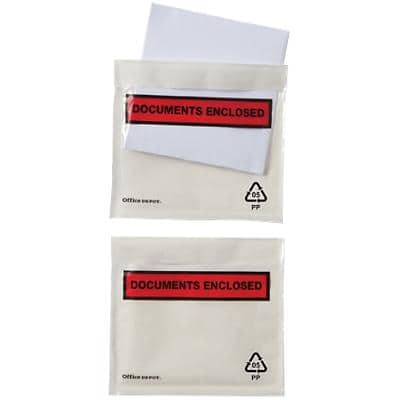 Office Depot Document Enclosed Envelopes C7 115 (W) x 81 (H) mm Self-Adhesive Printed Pack of 250
