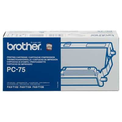 Brother Ribbon PC75 23 x 5 x 12 cm Black