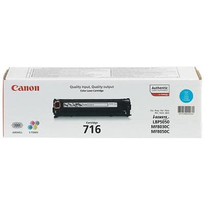 Canon 716 Original Toner Cartridge Cyan
