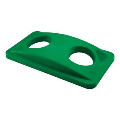 Rubbermaid Bin Lid Slim Jim Green 70 x 588 x 279 mm