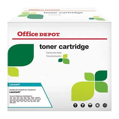 Compatible Office Depot Lexmark 64036HE Toner Cartridge Black