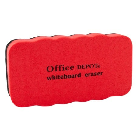 Office Depot Whiteboard Eraser None Magnetic Grey 5 cm