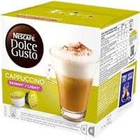 NESCAFÉ Dolce Gusto Cappuccino Skinny Light Coffee Pods Pack of 16
