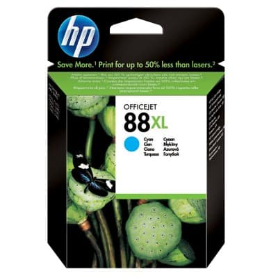 HP 88XL Original Ink Cartridge C9391AE Cyan