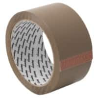 Niceday Economy Packaging Tape Brown 50 mm x 66 m 36 Rolls Per Pack
