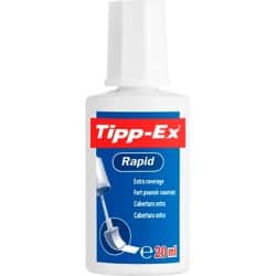 Tipp-Ex Rapid Correction Fluid Fast-Drying with Foam Applicator 20 ml