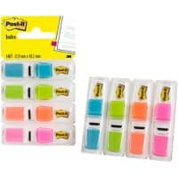 Post-it® Index Small Flags - 4 Colours (13mm) 140 flags
