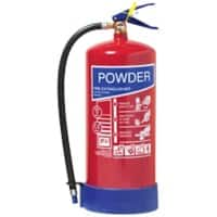 Jactone ABC Powder Fire Extinguisher BS EN3 Certified 9KG 18.9 x 55.2 cm