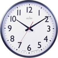 Acctim Wall Clock Large 35 x 5.6 cm Black