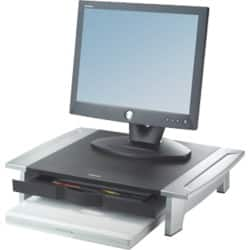 Fellowes Office Suites Standard Monitor Riser 8031101 Black, Silver
