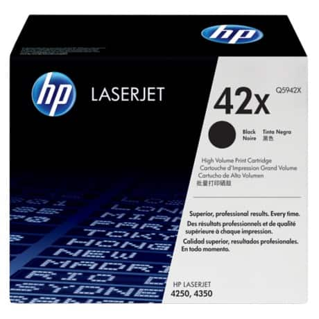 HP 42X Original Toner Cartridge Q5942X Black