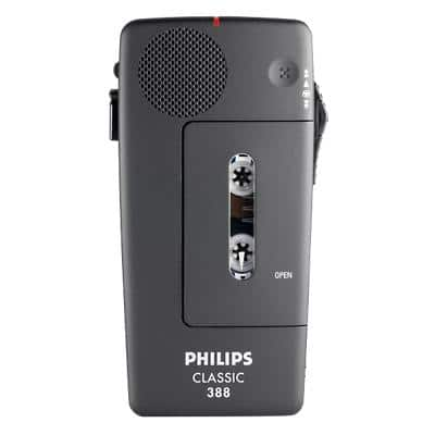 Philips Dictation Device LFH388 Black