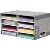 BANKERS BOX System Desktop Sorter 260 x 490 x 310 mm Grey, White