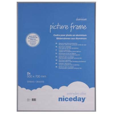Niceday Picture Frame Grey 2 Pieces 700 x 500 mm