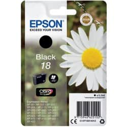 Epson 18 Original Ink Cartridge C13T18014012 Black