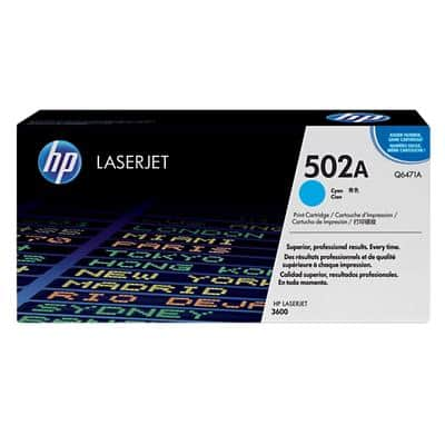 HP 502A Original Toner Cartridge Q6471A Cyan
