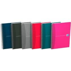 Oxford Office Wirebound Notebooks Soft Cover A4