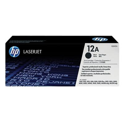 HP 12A Original Toner Cartridge Q2612A Black