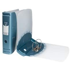Hermes Lever Arch File A4 2 ring 80 mm Blue