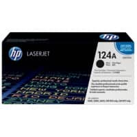 HP 124A Original Toner Cartridge Q6000A Black