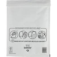 Sealed Air Mailing Bags G/4 79gsm White Plain Peel and Seal 240 x 330 mm 50 Pieces