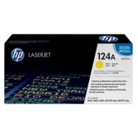 HP 124A Original Toner Cartridge Q6002A Yellow