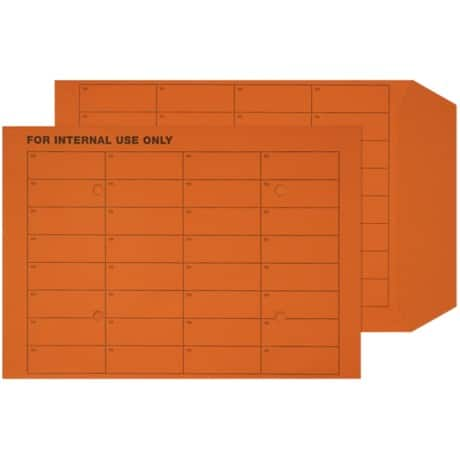 Office Depot Internal Mail Envelopes c4 120gsm Orange plain ungummed 250 pieces