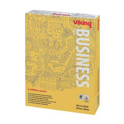 Viking Business Printer Paper A3 80gsm White 500 Sheets