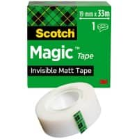 Scotch Tape Magic 19 mm x 33 m Transparent