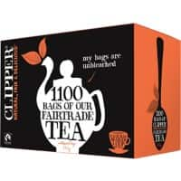 Fairtrade Tea Bags 1100 Pieces