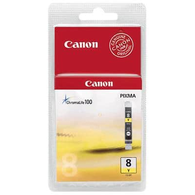Canon CLI-8Y Original Ink Cartridge Yellow