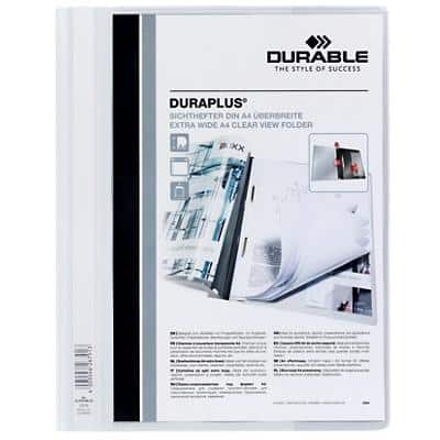DURABLE Report File 257902 A4 White PVC