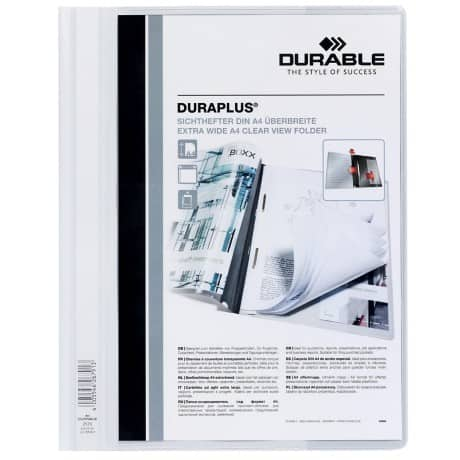 Durable Duraplus® Quotation File -White